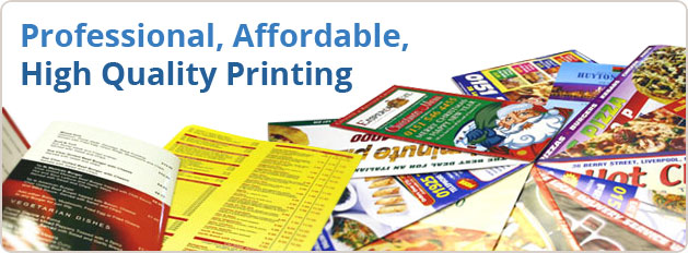 Professional, Affordable, High Quality Printing