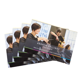 A4 Gloss laminated brochure