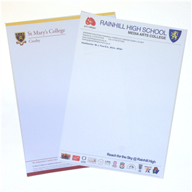 A4 Single side letterheads