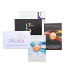 Single side gloss laminated business cards
